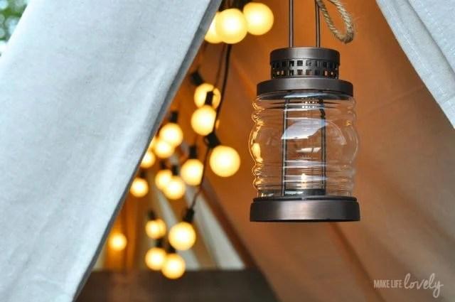 Glamping LIghting and Lights