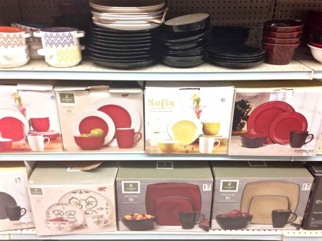 Dishes at Big Lots