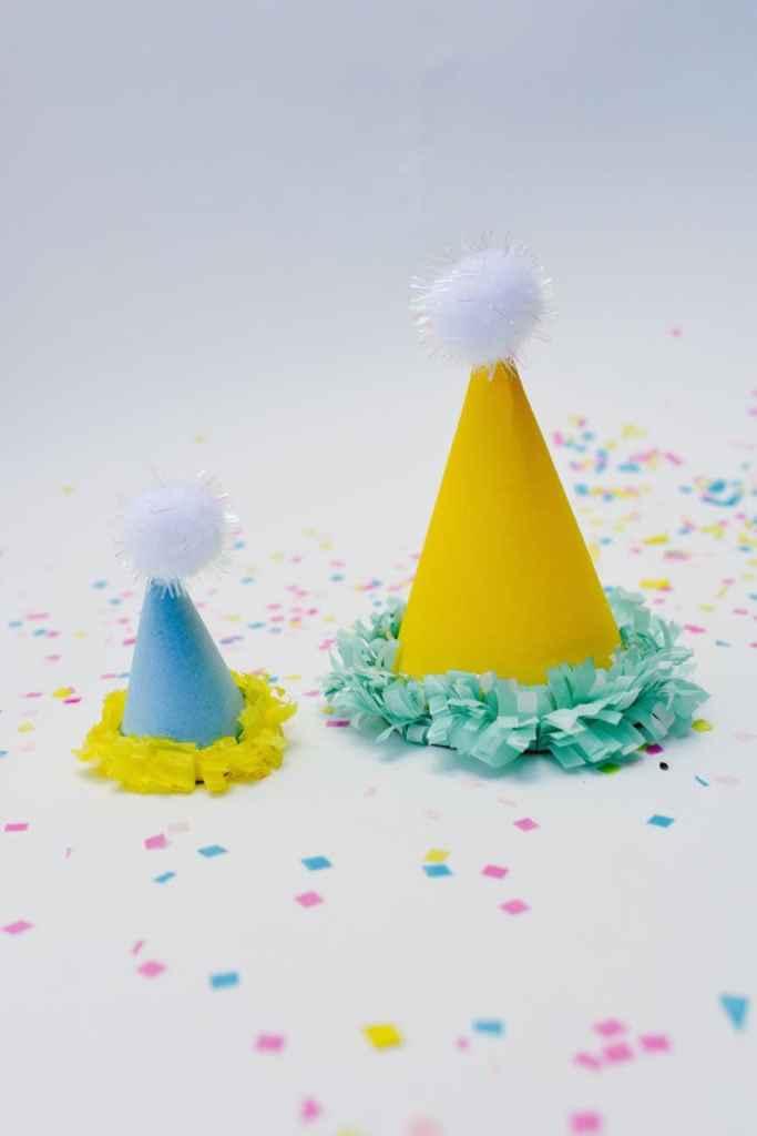 Mini Party Hats DIY