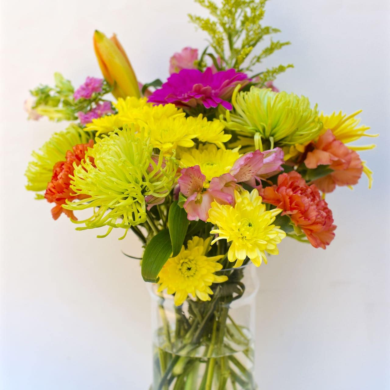 How to make a flower arrangement from grocery store flowers
