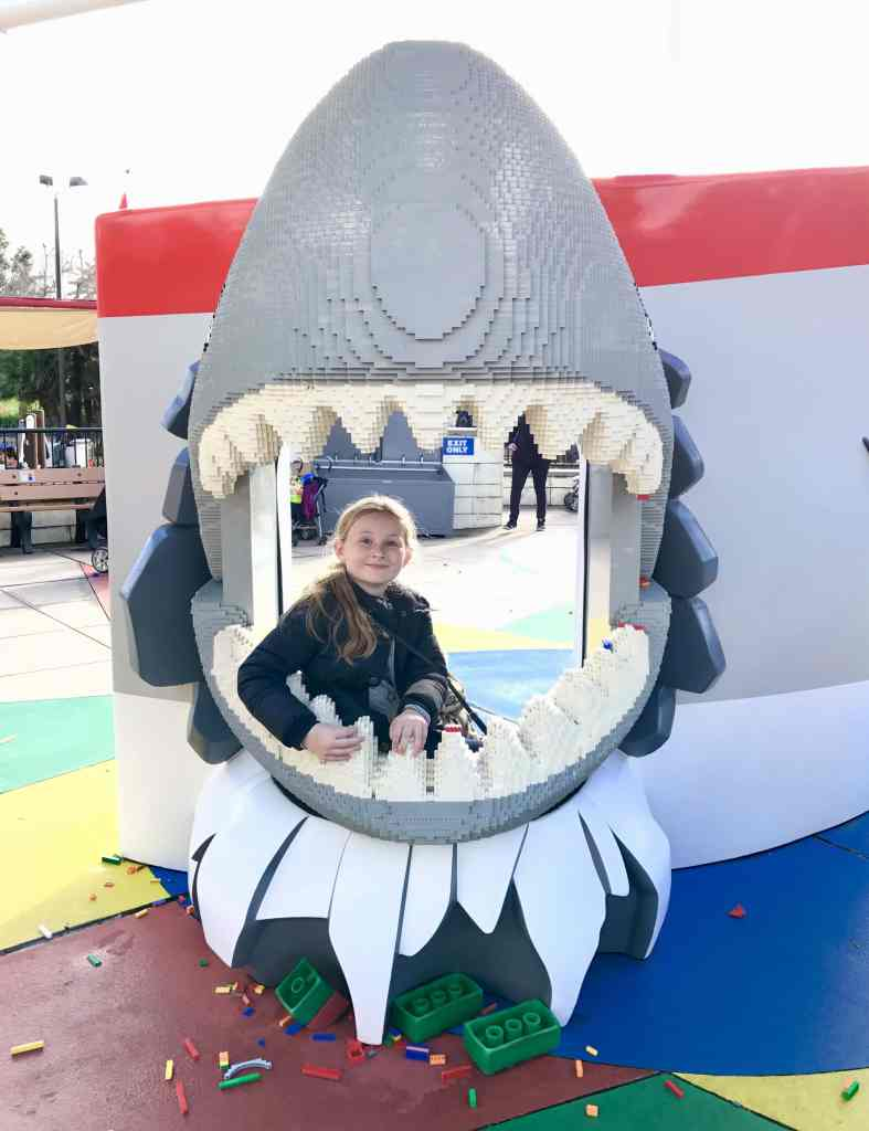 Legoland California shark