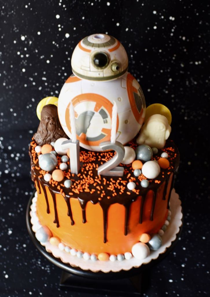 Star Wars cake tutorial The Force Awakens
