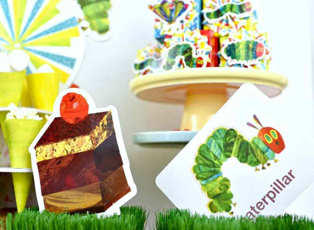 The Very Hungry Caterpillar party decorations