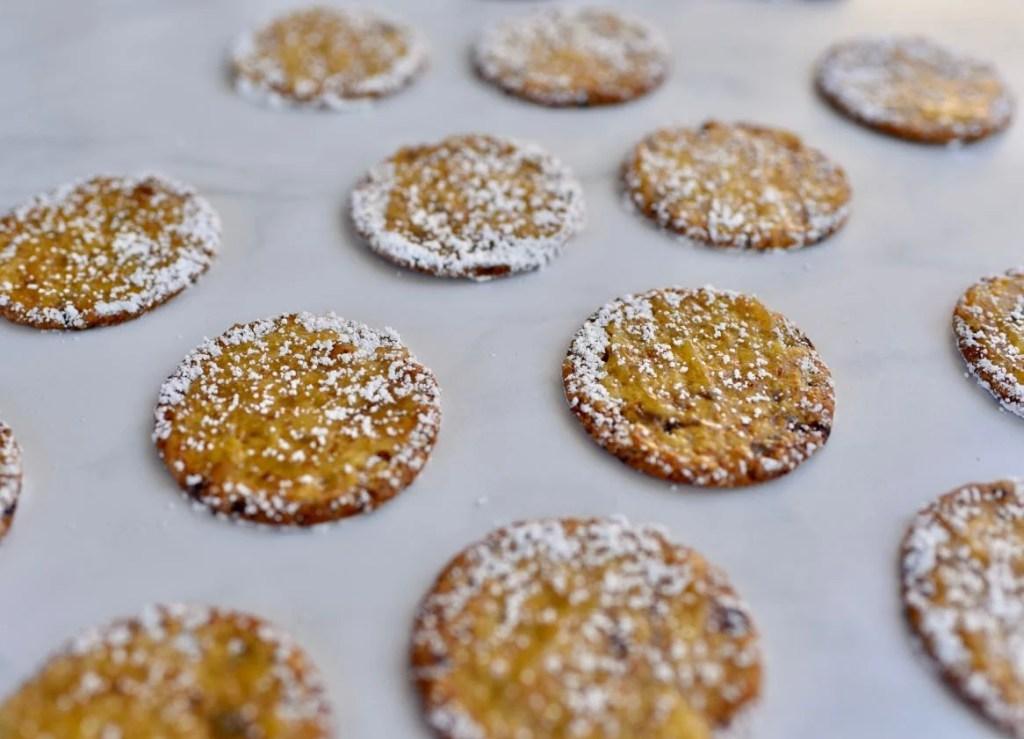Lemon blackberry cranberry crackers appetizer
