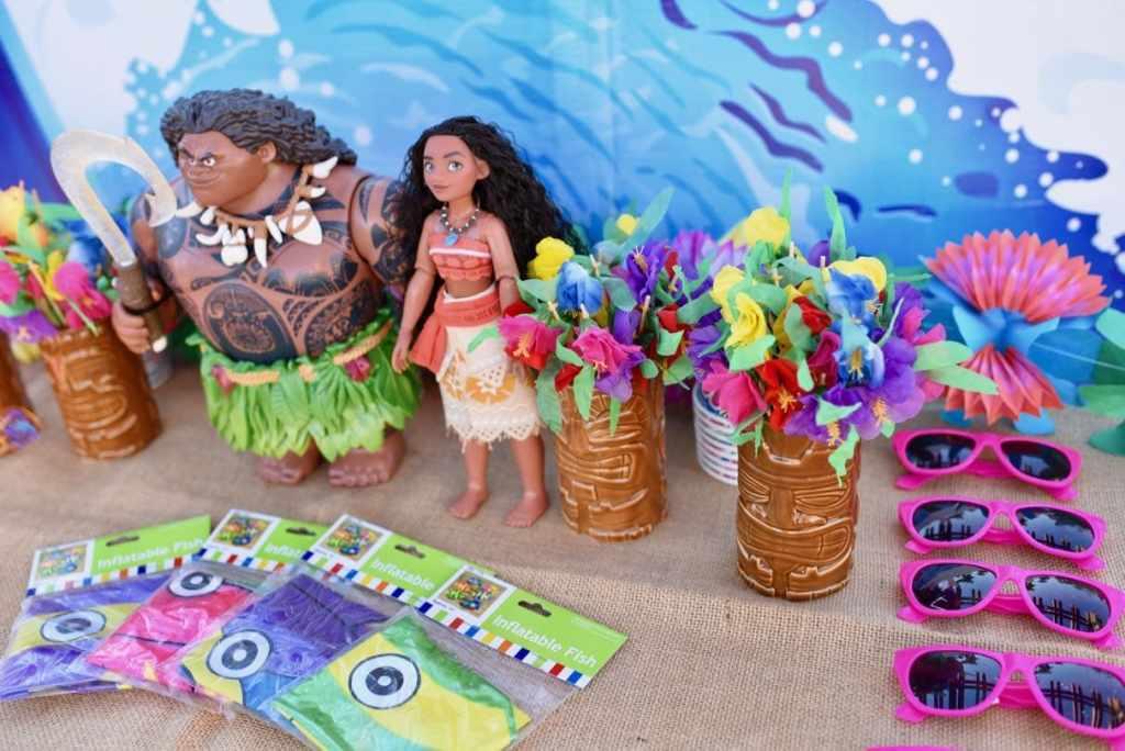 Moana birthday party crafts and activity ideas