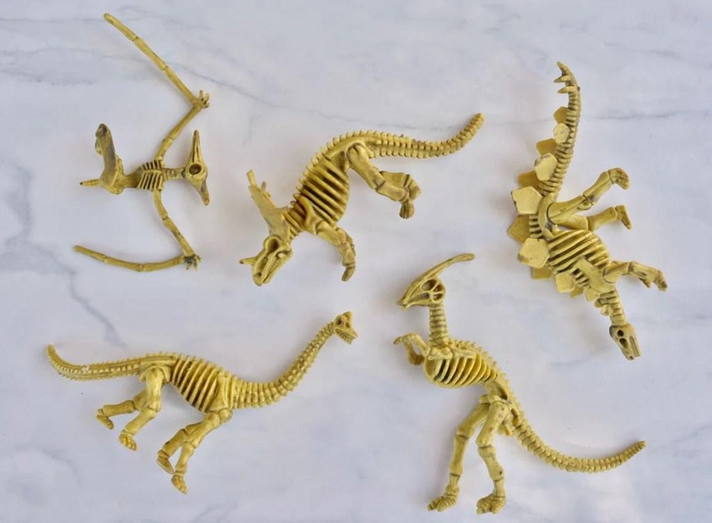 Dinosaur fossil toys for DIY dinosaur fossils