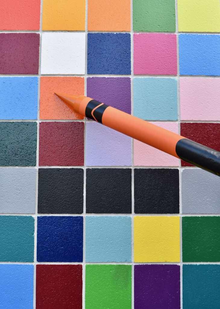 Giant crayon diy directions
