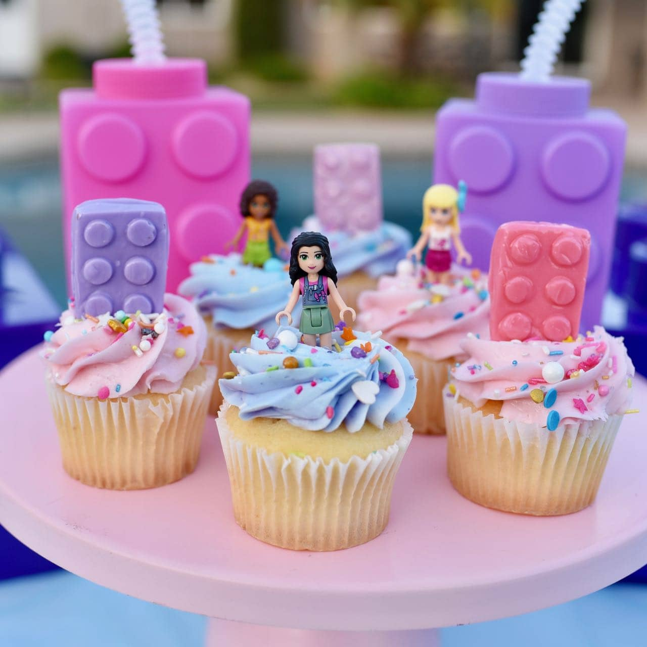 Lego Friends Party Poolside To Celebrate The End Of Summer Make Life Lovely
