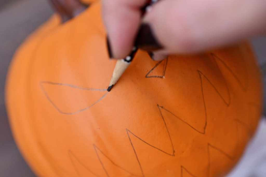 Nightmare Before Christmas Pumpkin DIY