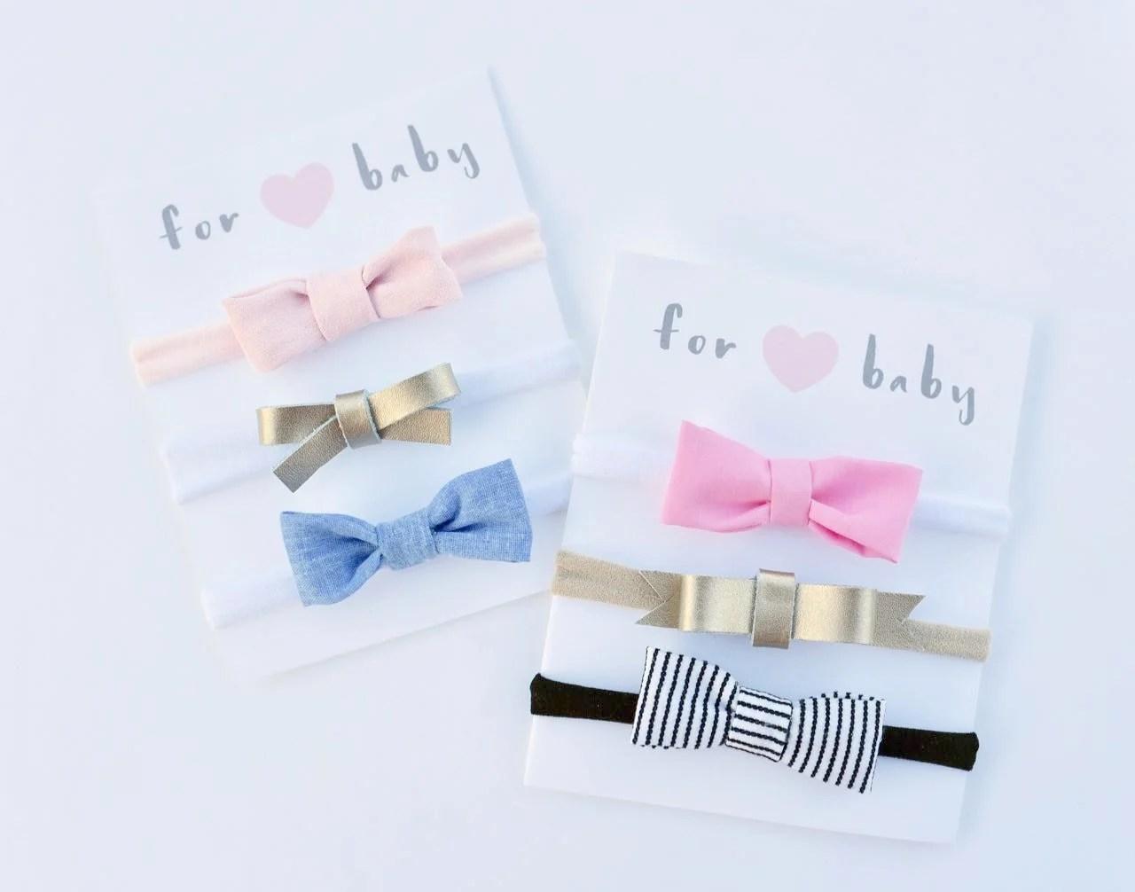 Diy Hair Bow Display Cards