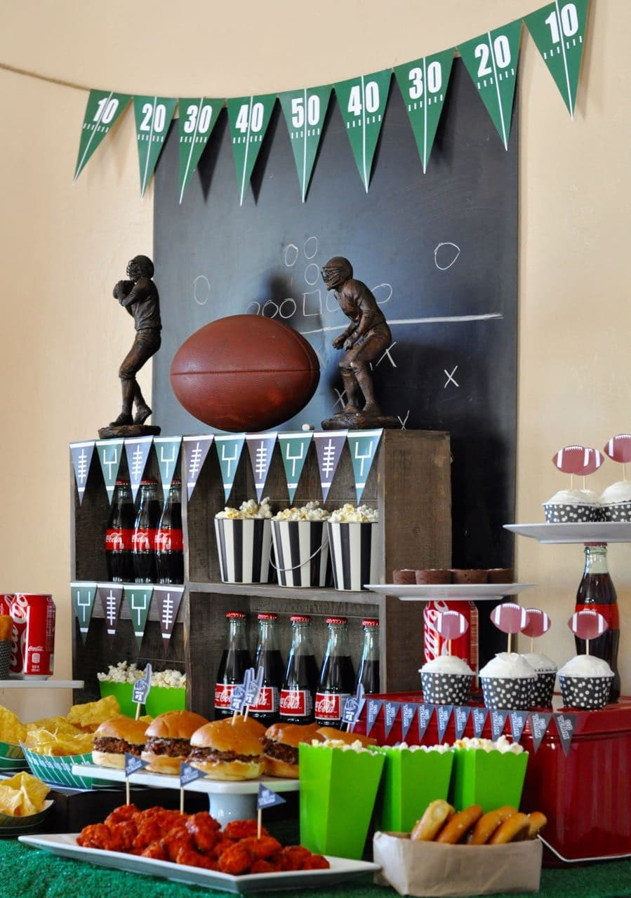 Super Bowl Party Free Printable Super Bowl Bingo Make