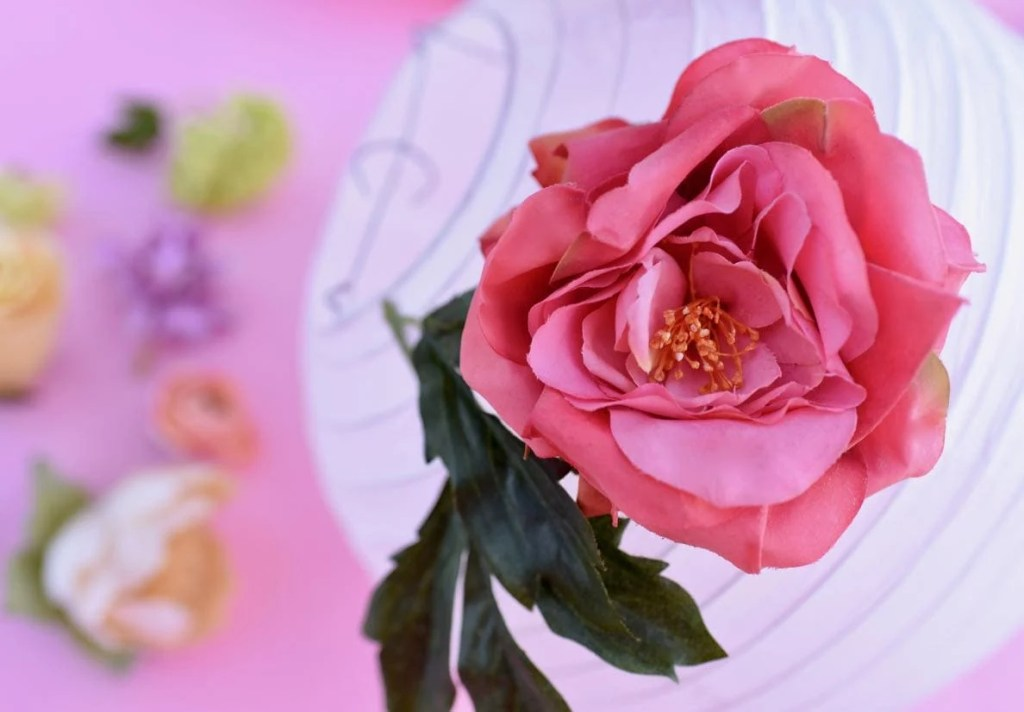 Diy flower paper lanterns tutorial make life lovely how to make diy flower paper lanterns mightylinksfo Choice Image