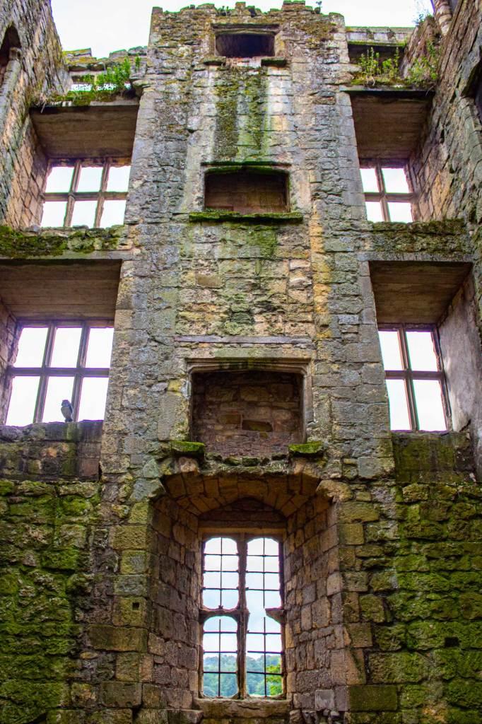 Inside of Helmsley Castle