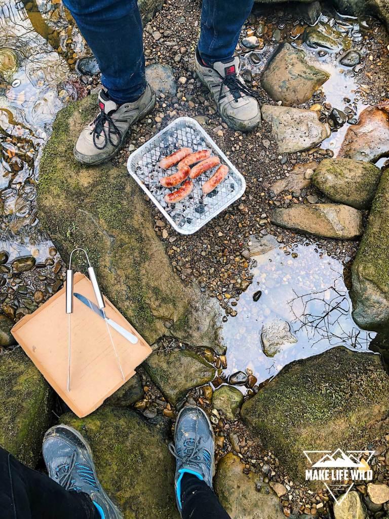 BBQ at Eller Beck near Thomason Foss