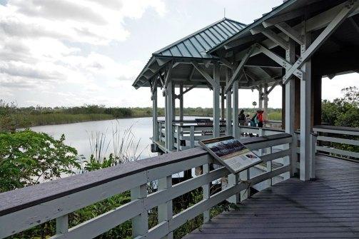 Boardwalk at the Ernest F. Coe Visitor Center.