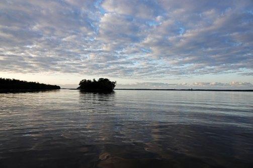 Early morning on Chokoloskee Bay.