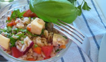 Farro With Vegetables