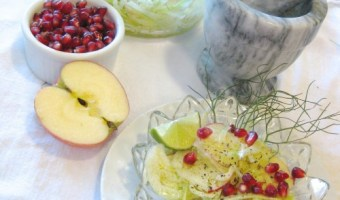 Fennel and Pomegranate Salad