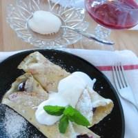 Crêpes With Crème Fraîche