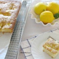 Lemon Cream Cheese Coffee Cake.