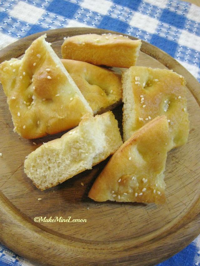 © Make Mine Lemon - Focaccia On A Board