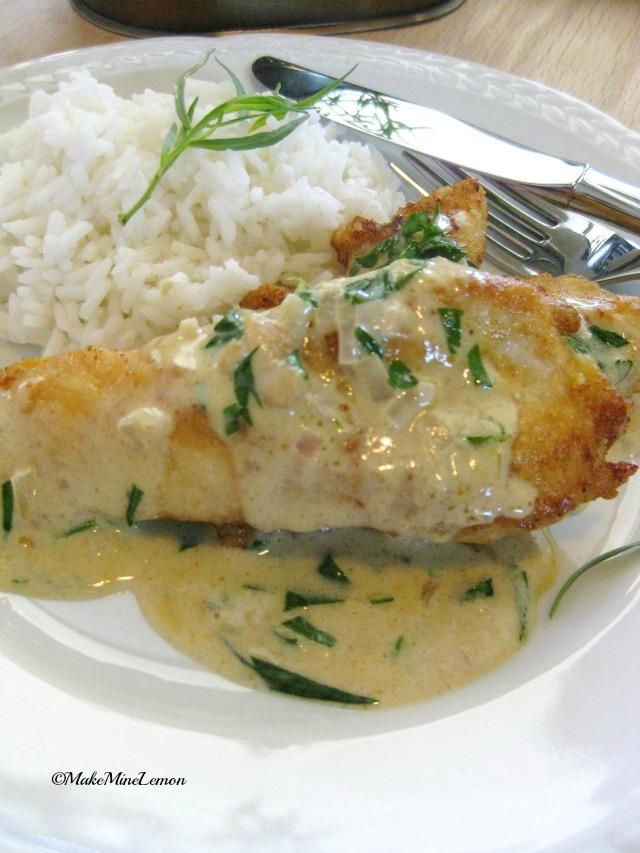 French Tarragon Chicken