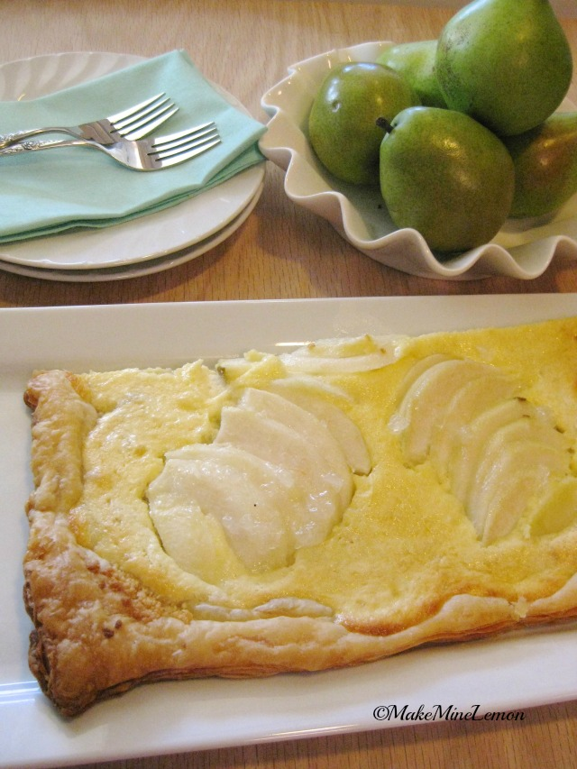 Pear Tart For You