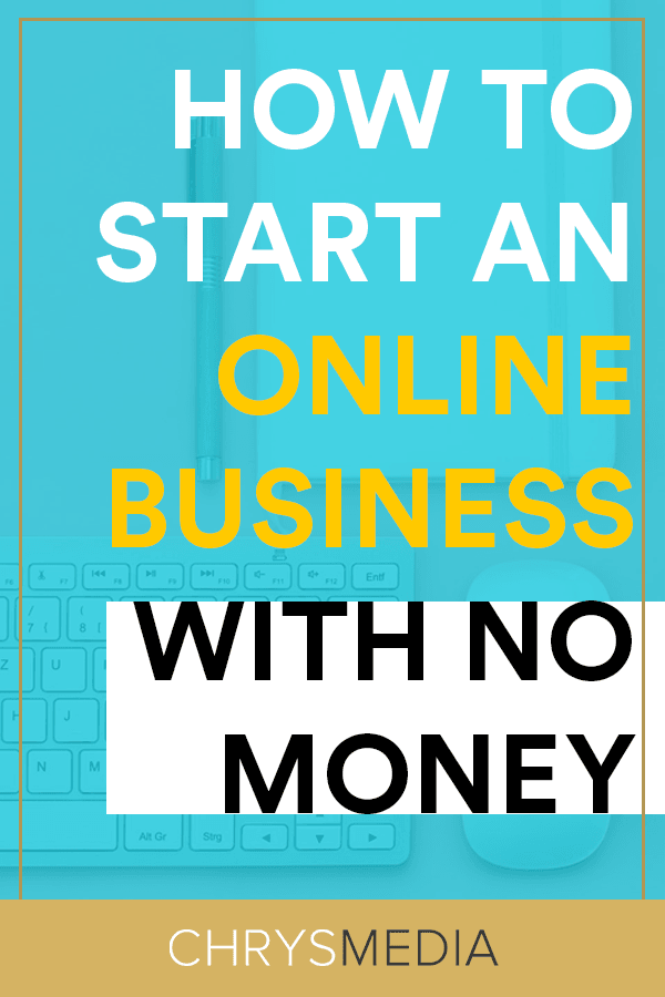 how to start a business online without money