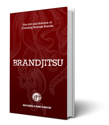 Book cover of The Art and Science of Creating a Kickass Brand