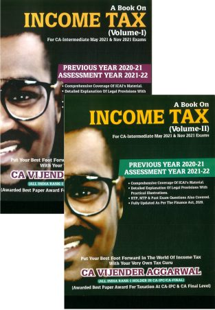 IGP Publication Income Tax CA IPCC By Vijender Aggarwal