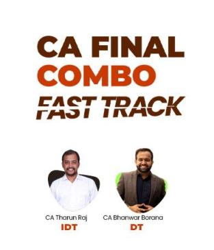 Video Lecture CA Final DT and IDT Fast Track in English