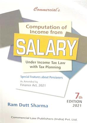 Commercial Computation of Income from Salary Under Income Tax Law