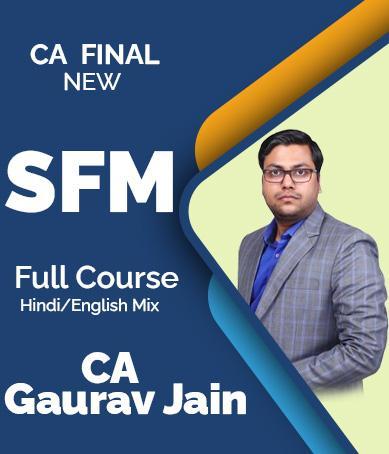 Video Lecture CA Final Strategic Financial Management Gaurav Jain