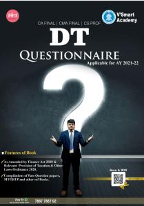 CA Final Direct Tax Questionnaire Book by CA Vijay Sarda