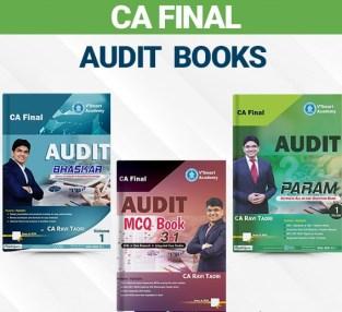 CA Final Audit All Book Set CA Ravi Taori Old and New Syllabus