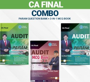 CA Final Audit PARAM Question Bank With MCQ Book By CA Ravi Taori