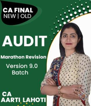 Video Lecture CA Final Audit Marathon Revision By CA Aarti Lahoti