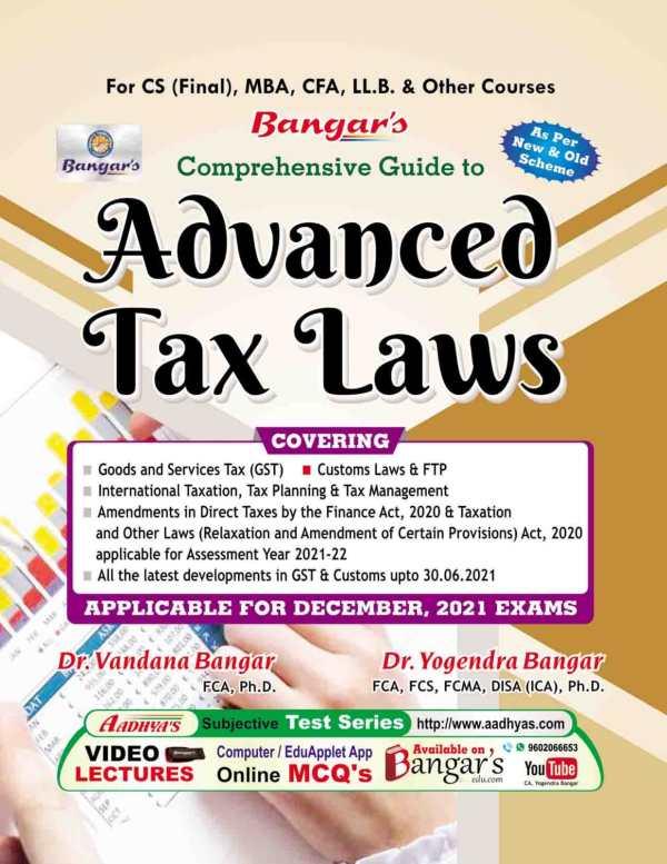 Advanced Tax Laws Practice CS Final Yogendra Bangar Vandana Bangar