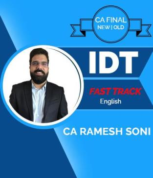 Video Lecture CA Final Indirect Tax Laws Ramesh Soni