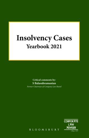 Bloomsbury Insolvency Cases Yearbook 2021 By S. Balasubramanian