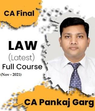 Video Lecture CA Final Law Regular New Syllabus By CA Pankaj Garg