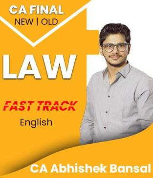 Video Lecture CA Final Law Fast Track In English By Abhishek Bansal