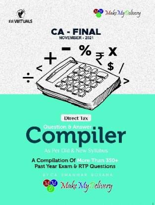 CA Final Direct Tax Compact Compiler Bhanwar Borana Nov 2021