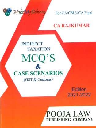 Pooja Law House Indirect Taxation MCQs On GST Customs RajKumar