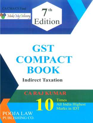 Indirect Taxation Compact Book on GST CA RajKumar May 2021