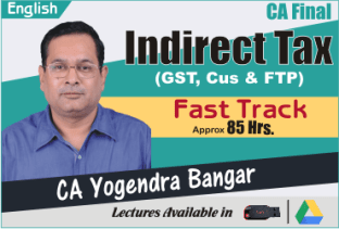Video Lecture CA Final IDT Fast track CA Yogendra Bangar Nov 2021