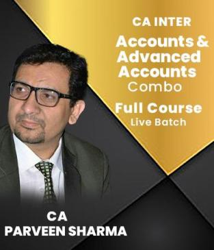 Video Lectures CA Inter Accounts Adv Accounts By CA Parveen Sharma