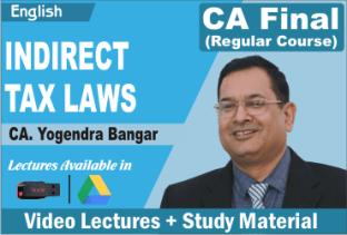 Video Lecture CA Final IDT In English CA Yogendra Bangar