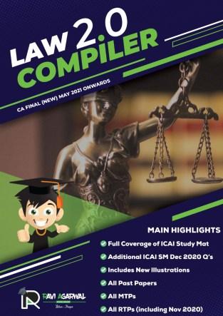 CA Final Law Compiler 2.0 PDF New Syllabus By CA Ravi Agarwal