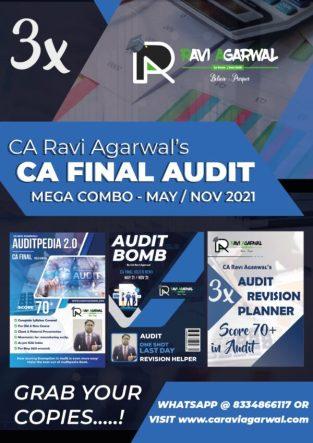 CA Final Audit PDF Old & New Syllabus By CA Ravi Agarwal